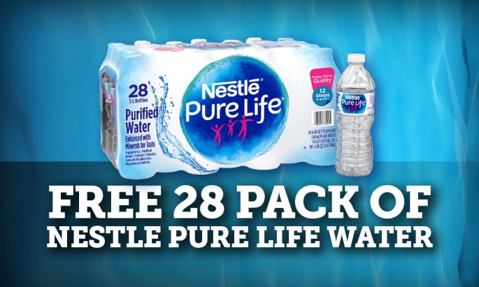 Free 28 Pack of Nestle Pure Life Water | Fresh Madison Market