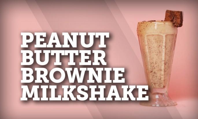Peanut Butter-Brownie Milkshake   Fresh Madison Market