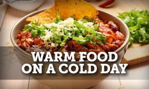 warm food