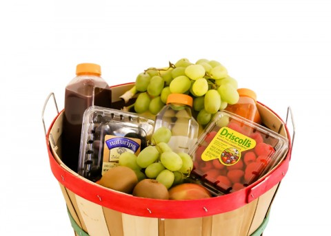 Premium Fresh Fruit Basket