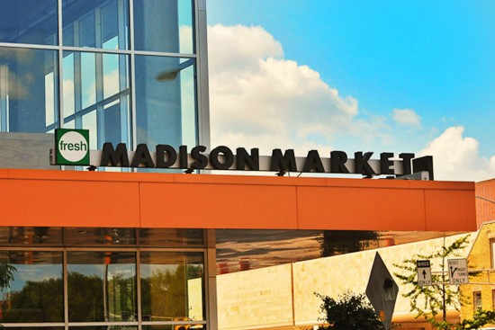 Fresh Madison Market exterior view