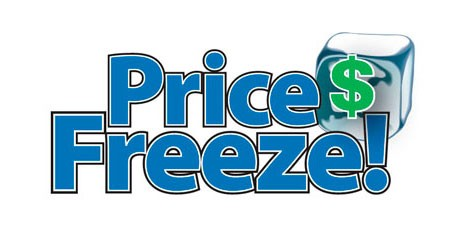 Price Freeze Special